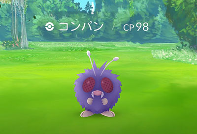 ポケモンGO コンパン
