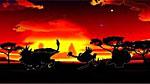 獣王2 荒野ステージ