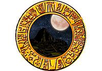 エルインカ 夜背景+満月
